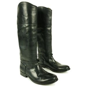 Frye Melissa Seam Tall Riding Boots Size 6.5 B